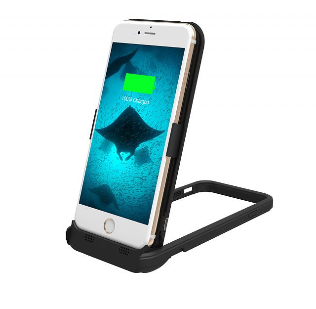 ThinCharge: World's Thinnest iPhone 6 / 6S Battery case-istand-6-black-01.jpg