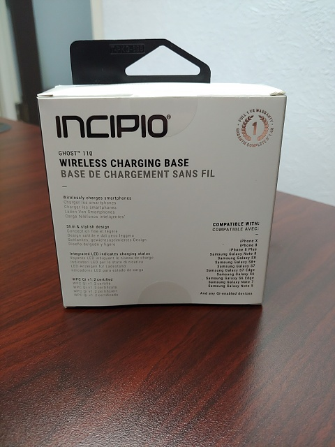 competitive price 8821c 69063 REVIEW] Incipio Ghost 110 Wireless Charger - iPhone, iPad, iPod ...