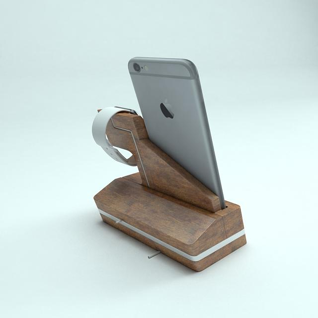Iwdock The Innovative New Apple Watch And Iphone Dock