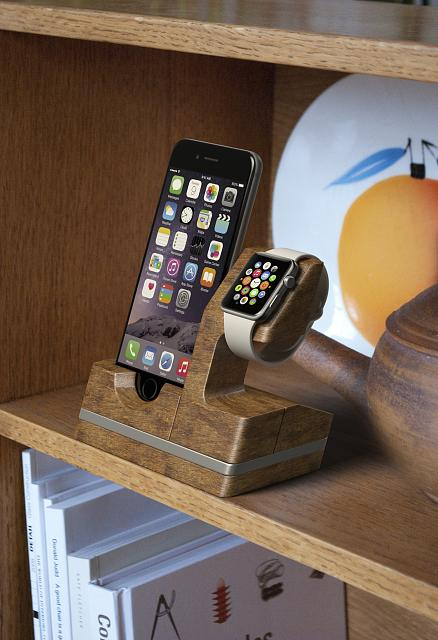 iwdock the innovative new apple watch and iphone dock. Black Bedroom Furniture Sets. Home Design Ideas