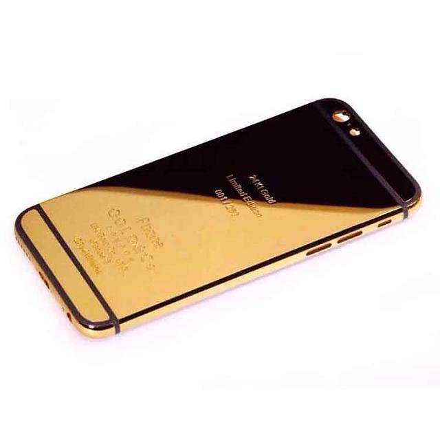 iphone 6 case gold and black