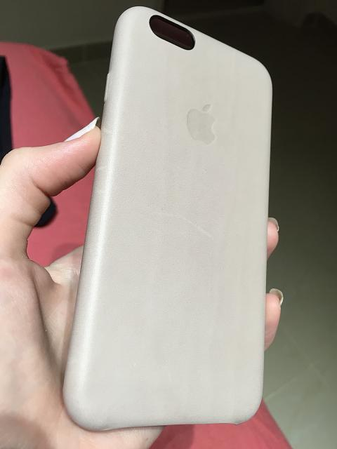 detailed look 91fdd 89e59 Got a Rose gray leather, should look like this? - iPhone, iPad, iPod ...
