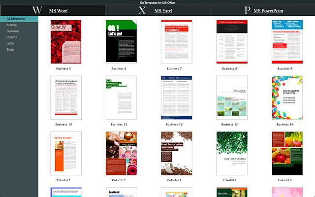 new publisher templates
