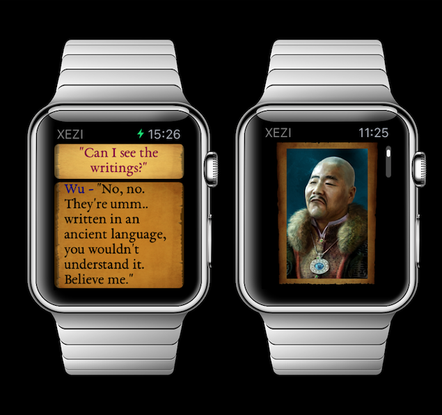XEZI: Story Mode for iOS and Apple Watch will launch on September 22-watch.png