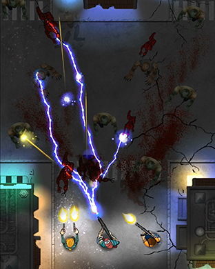 Zombie Overkill - top down shooter for Apple Watch-scr1.png