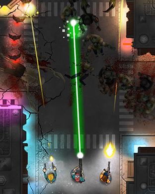 Zombie Overkill - top down shooter for Apple Watch-scr2.png