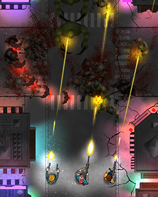 Zombie Overkill - top down shooter for Apple Watch-scr3.png