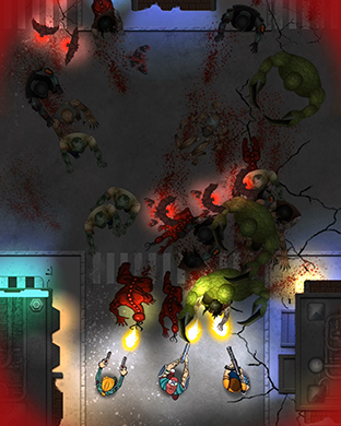 Zombie Overkill - top down shooter for Apple Watch-scr5.png