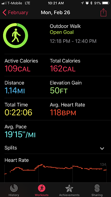 apple watch series 3 exercise app not syncing with activity app-img_3635.png
