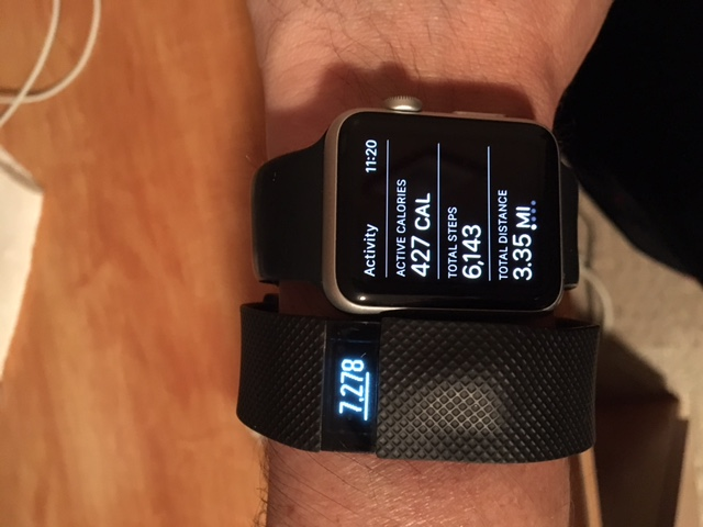 Apple Watch vs Fitbit Charge HR Step Counts off-img_8002.jpg