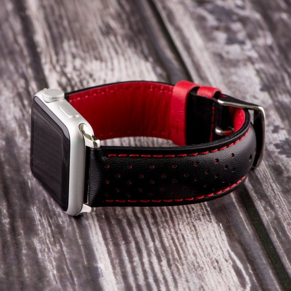 Show off your Apple Watch!-rally-smooth-perforated-interchangeable-watch-band-apple-black-red-570x570.jpg