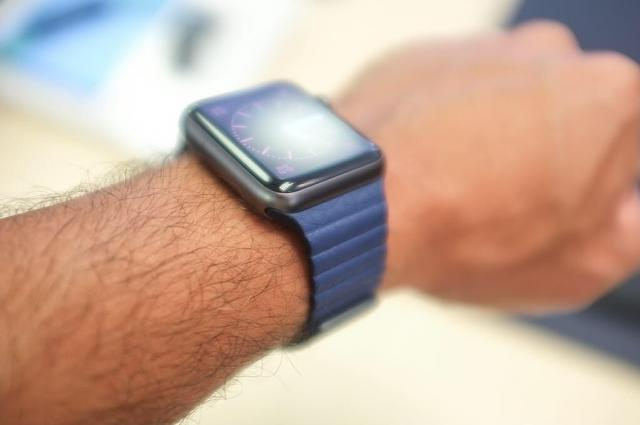 Apple Watch Space Grey Sport with Leather Band and other Combination Thoughts-img_1234.jpg