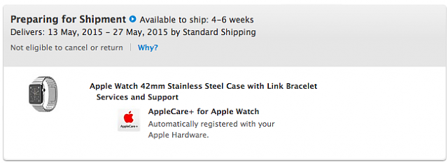  Watch - SS with Link Bracelet - Anyone with shipping movement?-screen.png