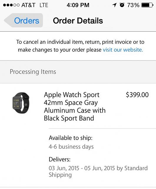 Apple Watch Order status and shipping update - Check In-imoreappimg_20150526_180901.jpg