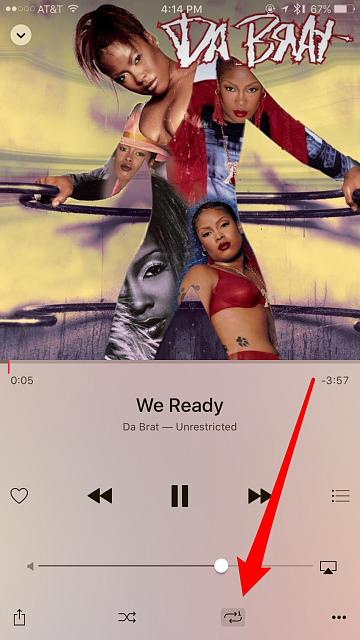 Why do the songs repeat when I play I play iTunes on my iphone 6?-imageuploadedbytapatalk1456175763.093596.jpg