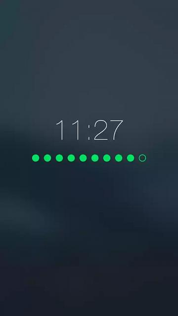 How do I get my 6S plus to display the clock while charging?-image.jpeg