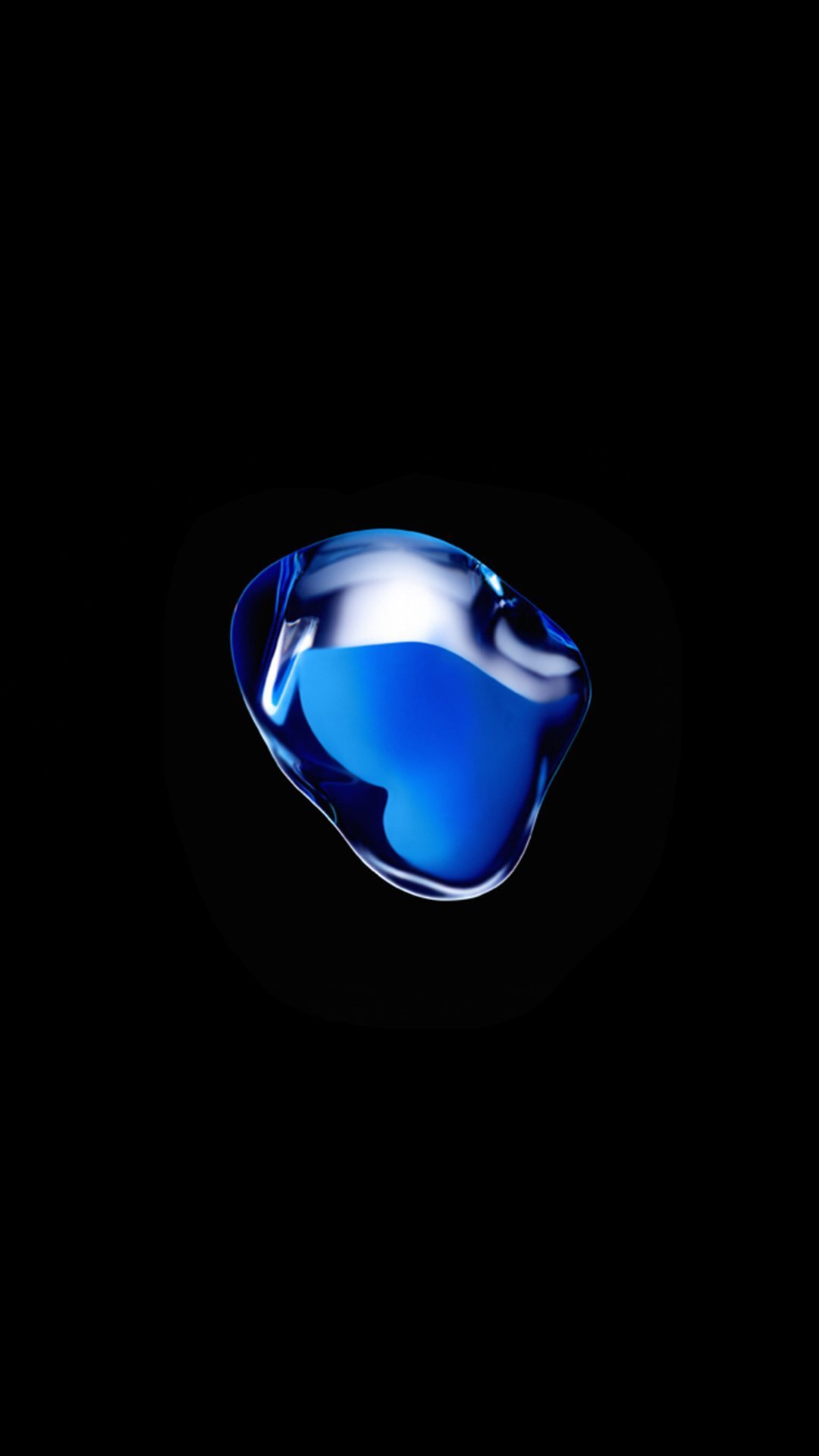 The Blue Blob Wallpaper In The Iphone 7 Ads Iphone Ipad