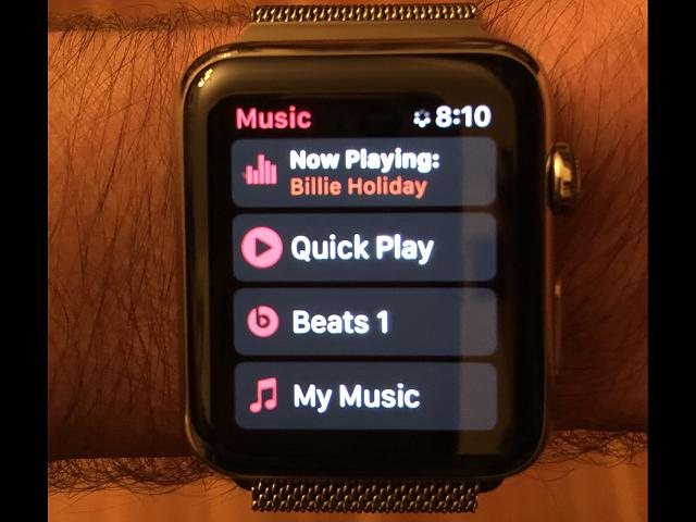 Is there a reason the Apple Watch music app won't show Beats 1 on Apple Watch music app-img_0003.jpg