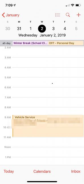 How can I remove the bullets on my calendar and have the name the the actual event.-img_0127.jpg
