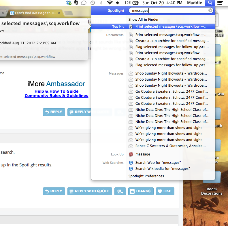 how to set up imessage on macbook
