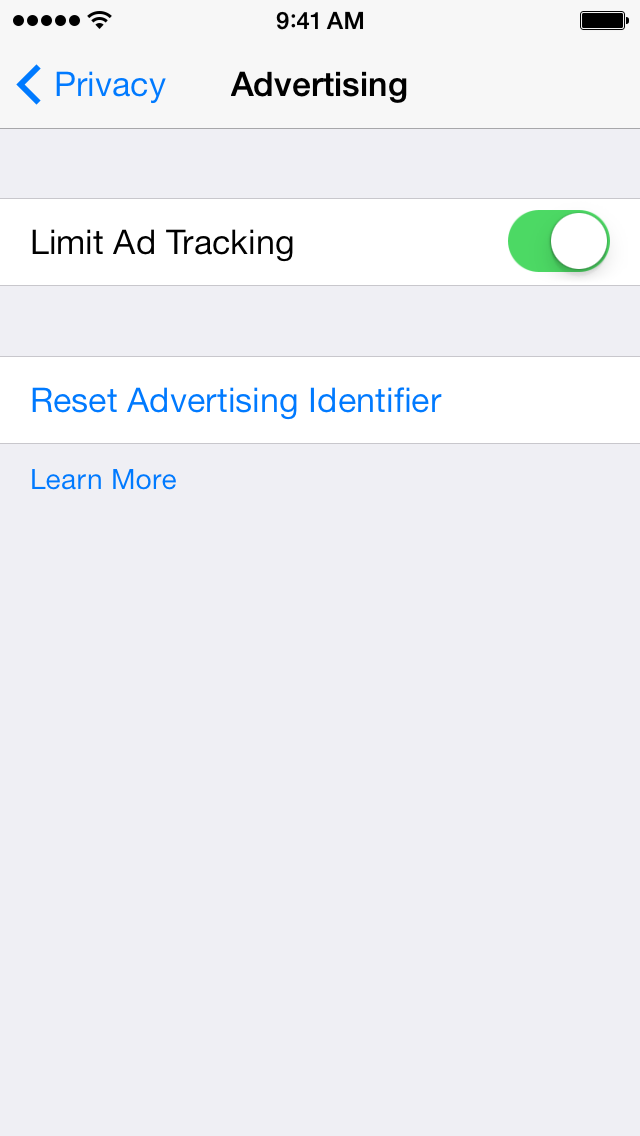 What Does Limit Ad Tracking Mean Should I Set Off Htitunesstore