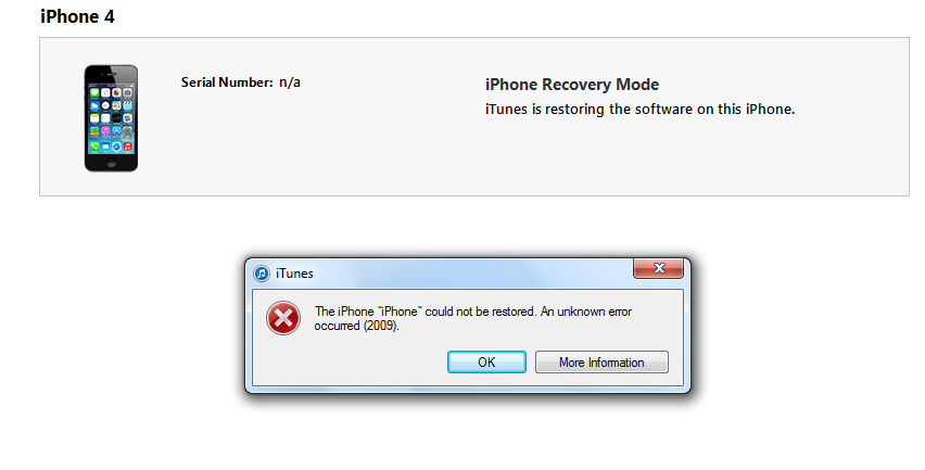 iphone wont restore iphone 4 won t restore from itunes iphone ipod 12500