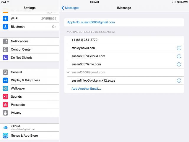 How do I change a phone number connected to the iPad iMessage?-image.jpg