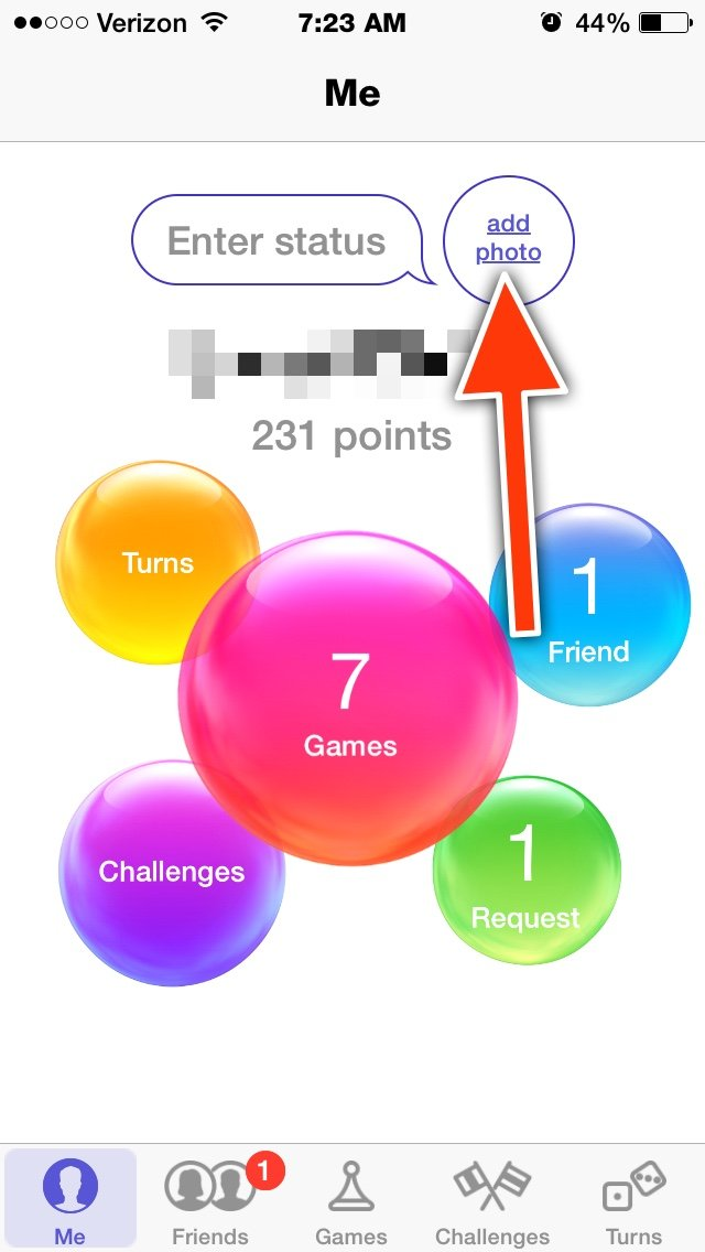 game center app for iphone why can t i do a profile picture on center iphone 16987