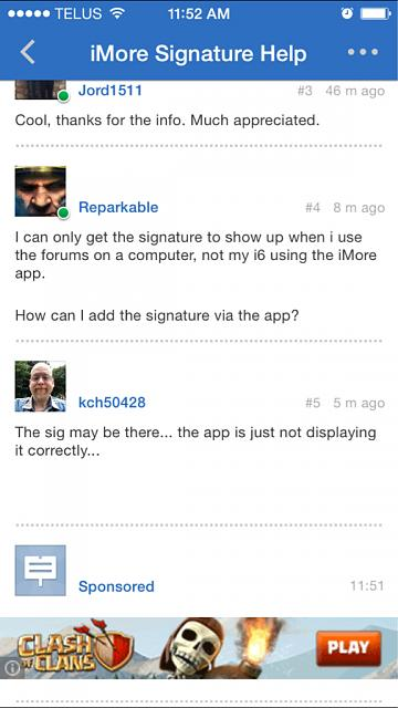 How can I add a signature using the iMore Forums app?-imageuploadedbyimore-forums1419882789.567220.jpg