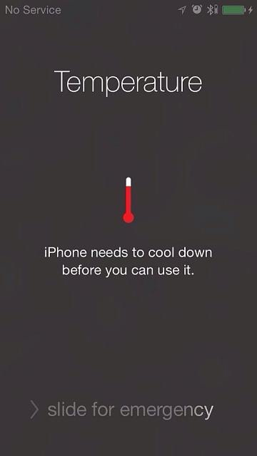 my iphone gets hot