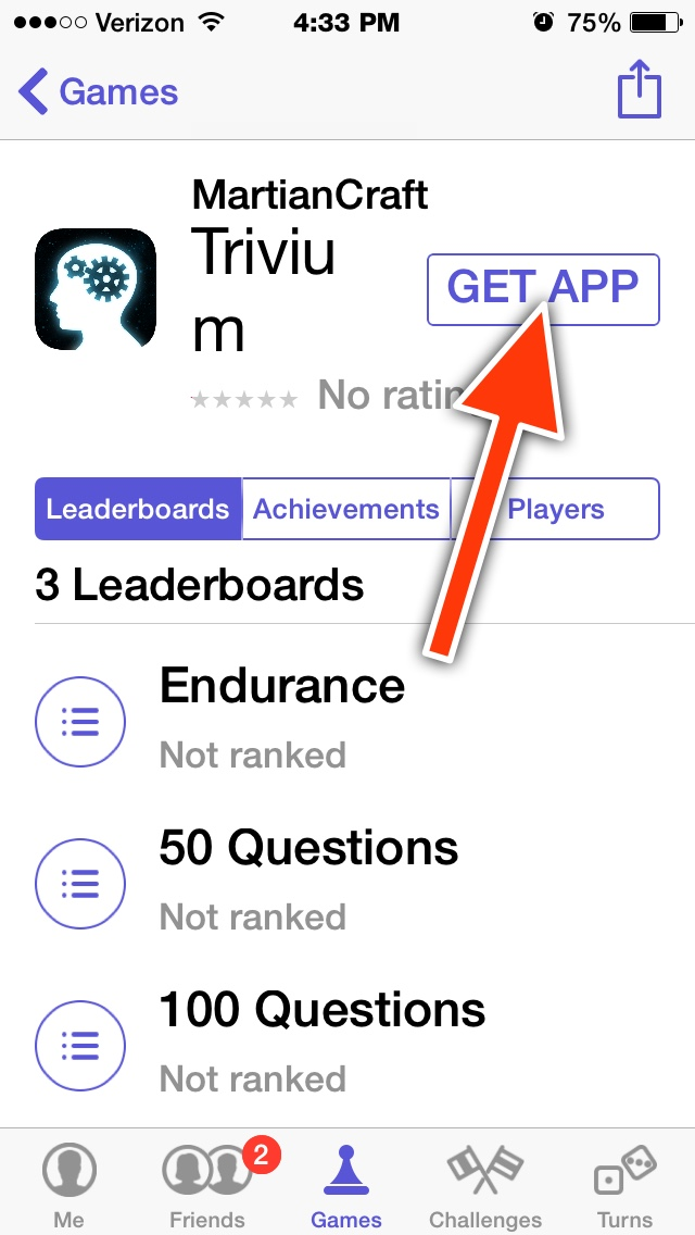 how to get points on game center