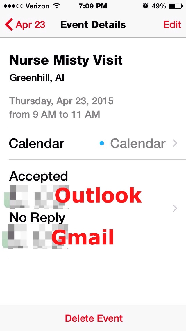 iphone meeting request problems Apple icloud accepting meeting reqeust causes issues whenever they save a meeting request from an exchange server via outlook their icloud calendar sends the same meeting invitation to all participants.