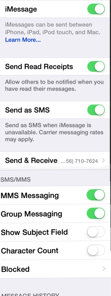 Why am I not receiving group texts from iPhone users? - iPhone ...