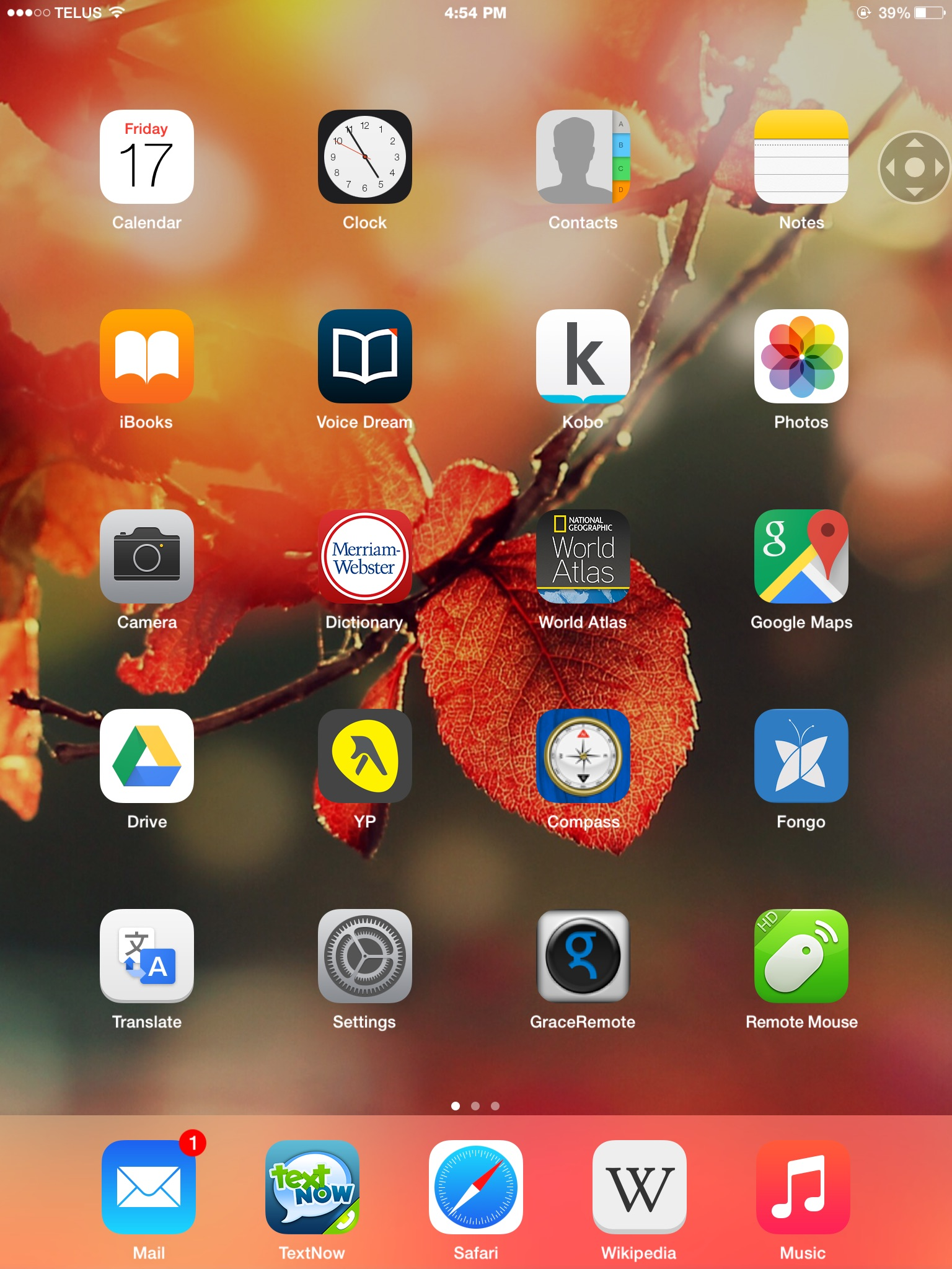 Why Is Background Wallpaper On My Ipad Suddenly Dark And Blurry Iphone Ipad Ipod Forums At Imore Com