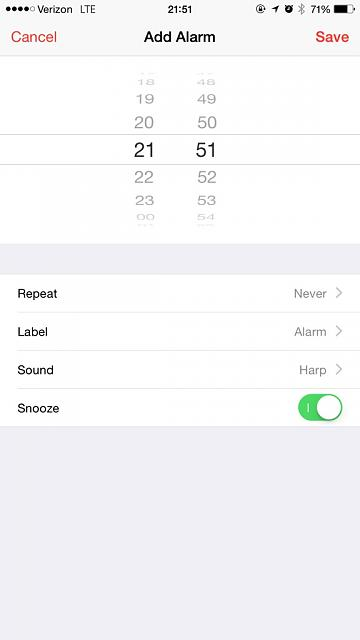 Why can't I set an alarm on my iPhone 5C?-imageuploadedbytapatalk1433555488.837446.jpg