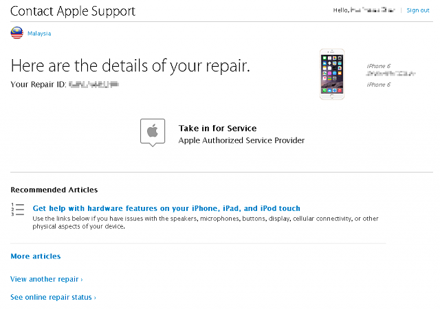 Can I send an iCloud Locked iPhone for Service?-_take-service.png