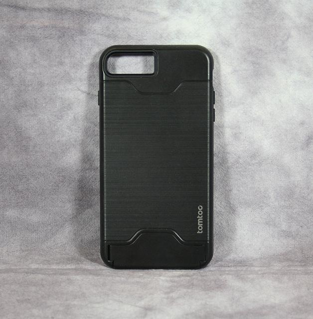 Review: Tomtoc Dual Layer Hybrid Armor Case - Card Slot Holder & Kickstand for iPhone 7 Plus - Black-img_1973.jpg