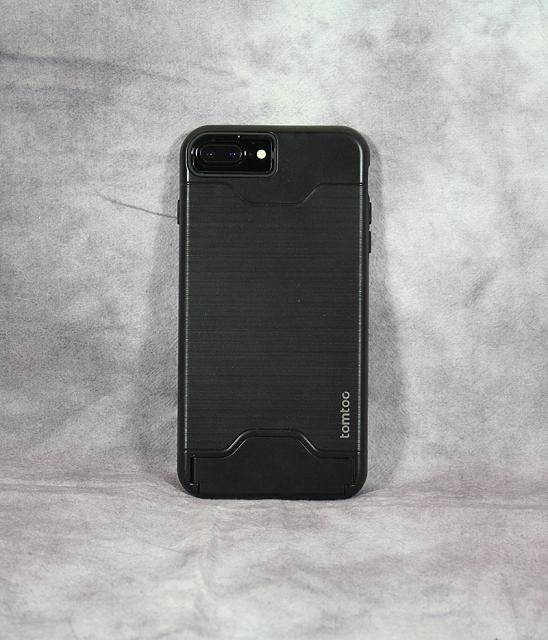 Review: Tomtoc Dual Layer Hybrid Armor Case - Card Slot Holder & Kickstand for iPhone 7 Plus - Black-img_1981.jpg
