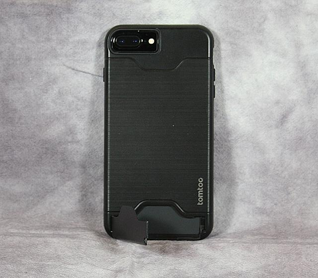 Review: Tomtoc Dual Layer Hybrid Armor Case - Card Slot Holder & Kickstand for iPhone 7 Plus - Black-img_1984.jpg