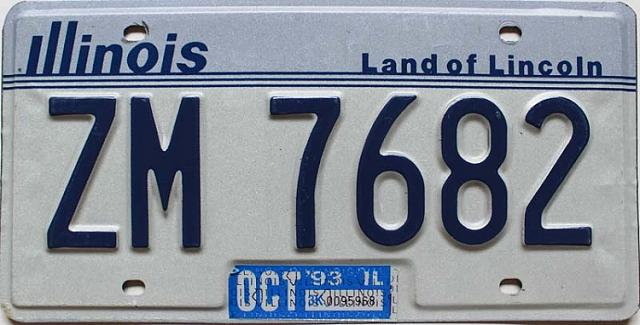 Forum Game: Numbers, Numbers-1993-illinois-old-license-plate-sale-zm7682.jpg