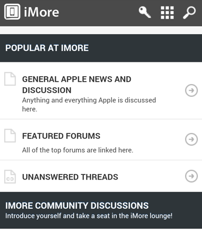 How to use our Mobile Forums Theme-home.png