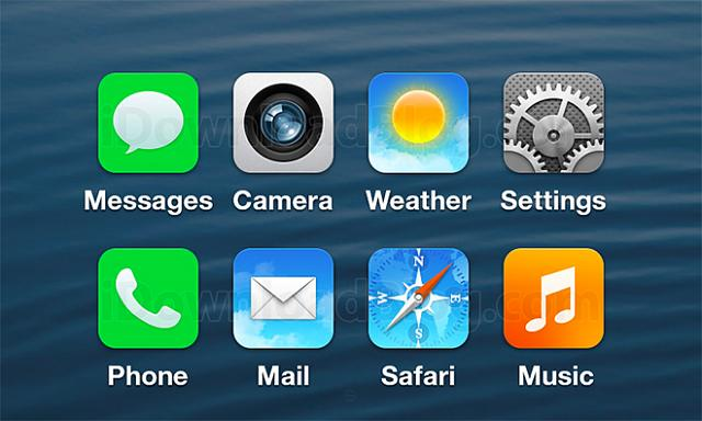 Purported iOS 7 icon leaks; do you like the flatter design or the glossy design better?-no-skeuo-130603.jpg