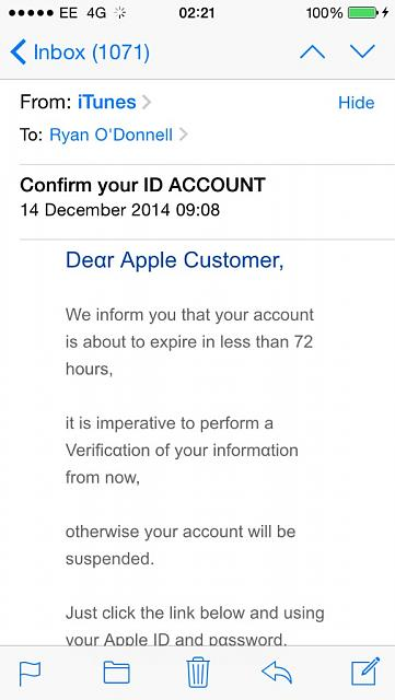 PSA - Be aware of scam attempts via iCloud mail-imoreappimg_20150107_022327.jpg