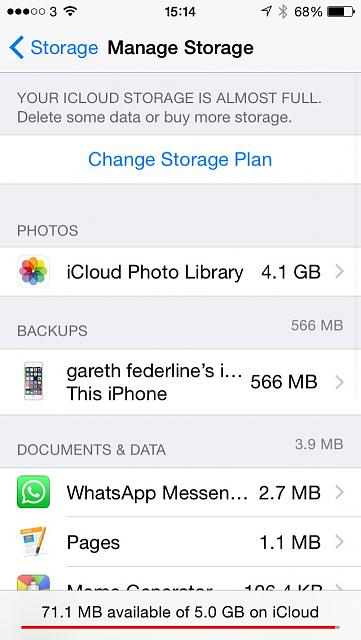My iCloud Photo Library use up more cloud storage space then the original old iCloud back up does ?-image.jpg