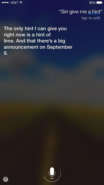Siri teasing us after official Sept. 9th announcement today...-img_6317.jpg