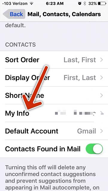 One of my contacts is set as me on my iPhone and I don't know how to change it?-imageuploadedbytapatalk1442921241.249253.jpg