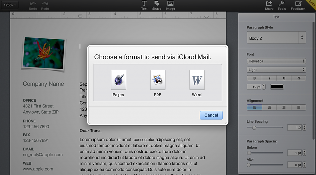 [GUIDE] Exporting iWork For iCloud files For Microsoft Office Compatibility-iwork_icloud_email3.png
