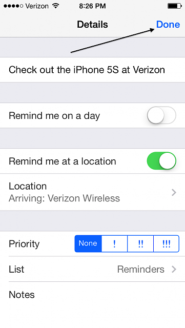 [GUIDE] How to set a location-based reminder with the iOS 7 reminders app-done.png
