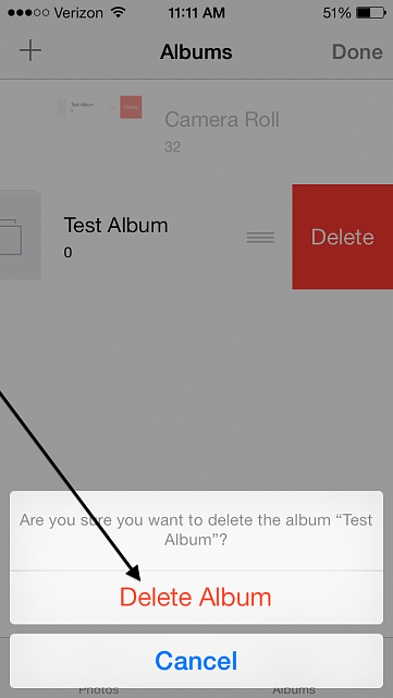 how to delete an album on iphone guide how to delete a photo album in ios 7 iphone 19962