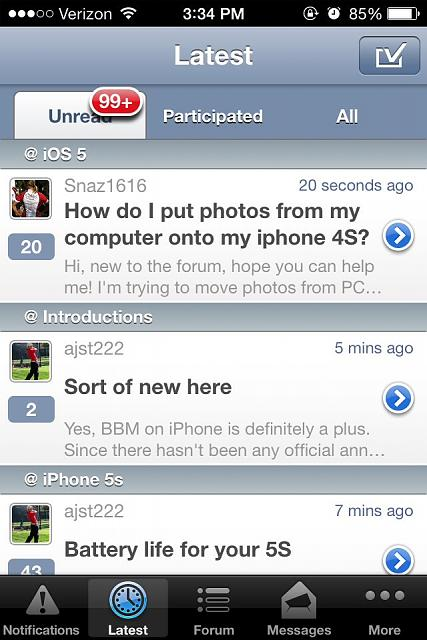 [GUIDE] How to send a personal message using the iMore Forums app-imageuploadedbyimore-forums1384641594.874463.jpg